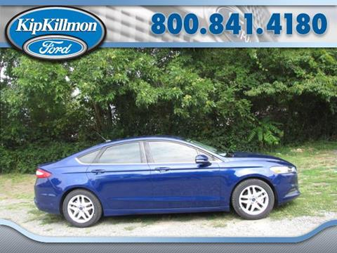 2015 Ford Fusion for sale in Louisa, VA