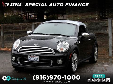 2012 MINI Cooper Coupe for sale in Roseville, CA