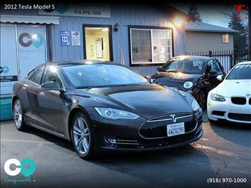 2012 Tesla Model S for sale in Roseville, CA