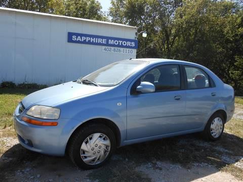 2005 Chevrolet Aveo for sale in Crete, NE