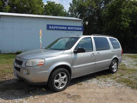2007 Chevrolet Uplander for sale in Crete, NE