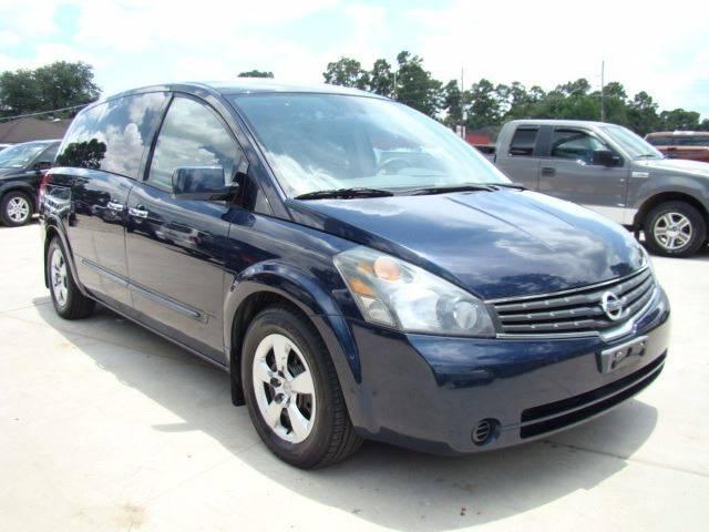 2008 Nissan Quest 35 4dr Mini Van In Houston Tx Trade Lane Motors