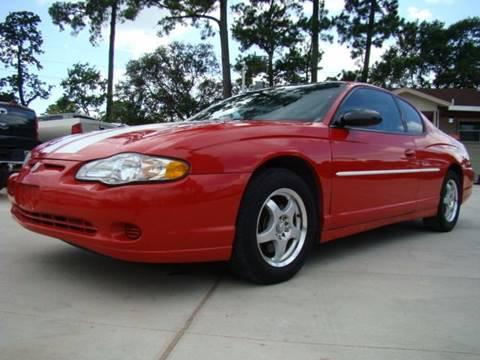 2004 Chevrolet Monte Carlo for sale in Houston, TX