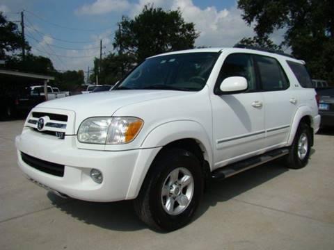 2005 Toyota Sequoia for sale in Houston, TX