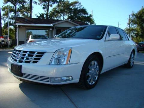 2007 Cadillac DTS for sale in Houston, TX