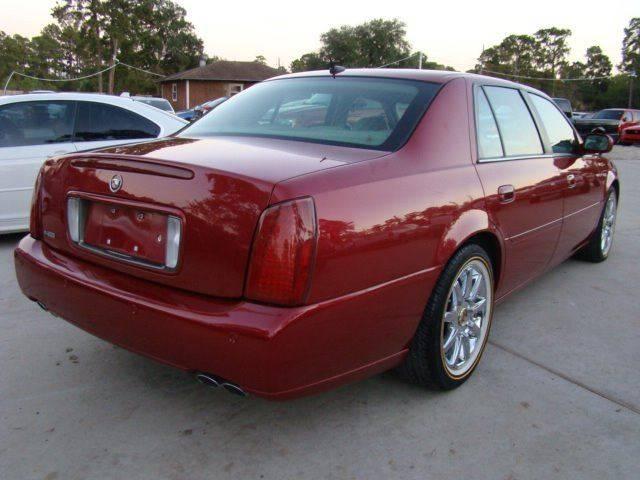 2005 Cadillac Deville Dts 4dr Sedan In Houston Tx Trade Lane Motors