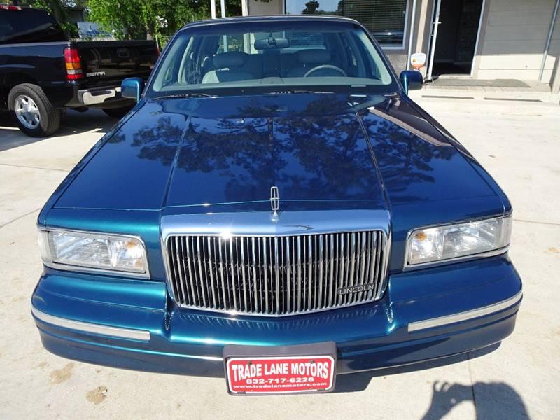 1997 Lincoln Town Car Signature 4dr Sedan In Houston Tx Trade Lane