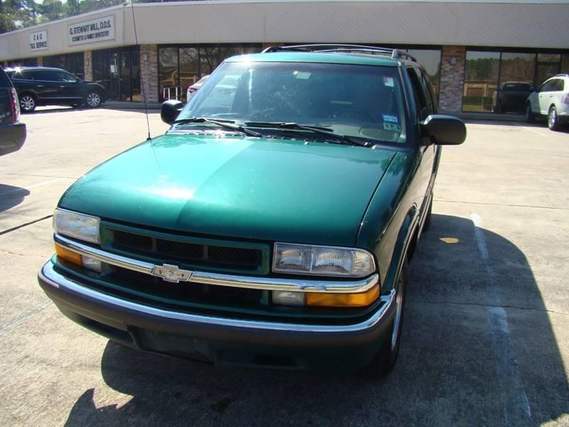 1999 Chevrolet Blazer Lt 4dr Suv In Houston Tx Trade Lane Motors