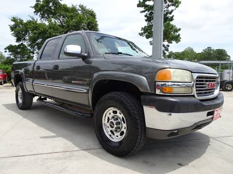 2002 GMC Sierra 2500HD for sale in Houston, TX