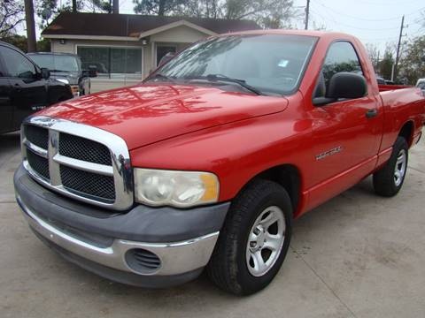 2002 Dodge Ram Pickup 1500 for sale in Houston, TX
