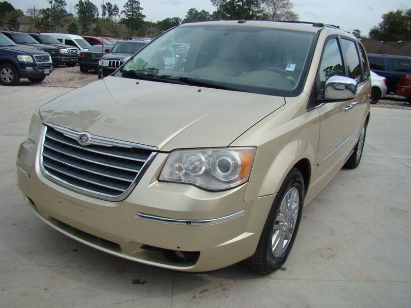 2010 Chrysler Town And Country Limited 4dr Mini Van W 28y In Houston