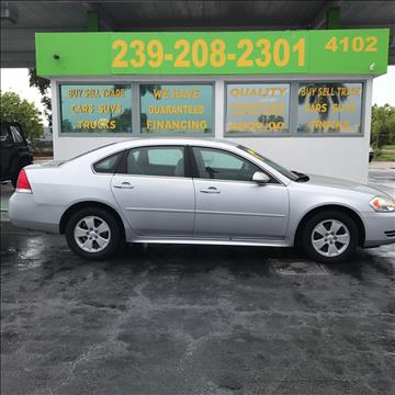 2011 Chevrolet Impala for sale in Fort Myers, FL