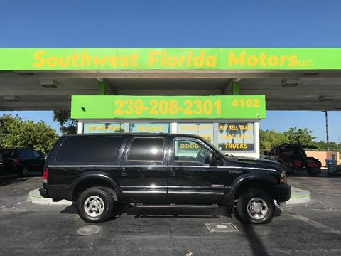 2003 Ford Excursion for sale in Fort Myers, FL