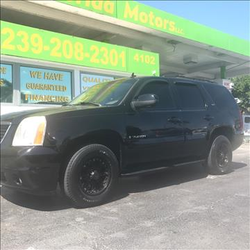 2007 GMC Yukon for sale in Fort Myers, FL