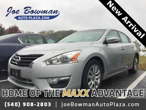 2013 Nissan Altima for sale in Harrisonburg, VA