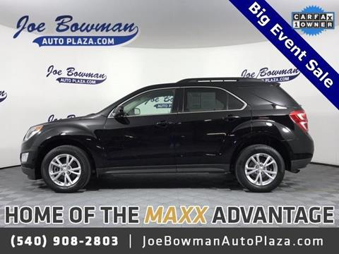 2016 Chevrolet Equinox for sale in Harrisonburg, VA