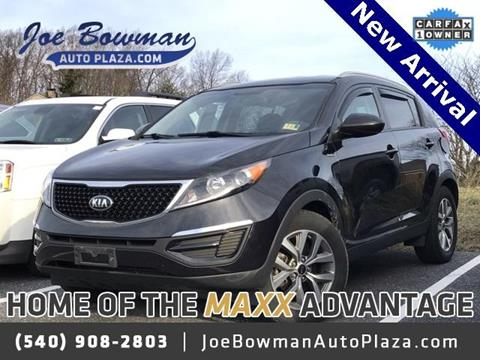2016 Kia Sportage for sale in Harrisonburg, VA