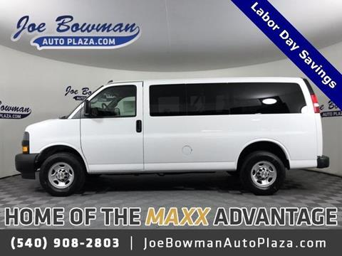 2019 Chevrolet Express Passenger for sale in Harrisonburg, VA