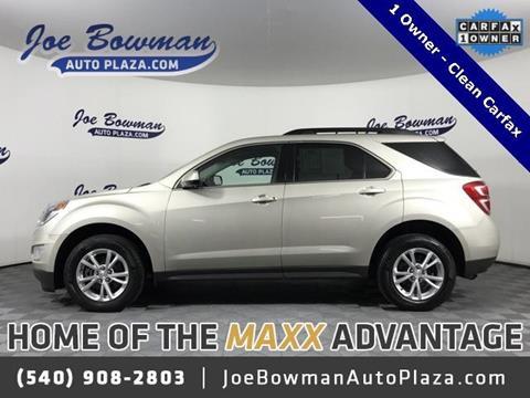 2016 Chevrolet Equinox for sale in Harrisonburg, VA