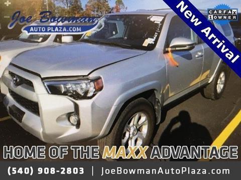 2016 Toyota 4Runner for sale in Harrisonburg, VA