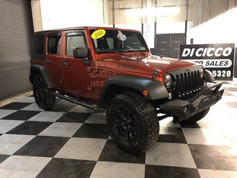 2014 Jeep Wrangler Unlimited for sale in Bensalem, PA