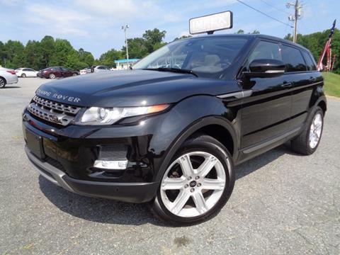 2013 Land Rover Range Rover Evoque for sale in Greensboro, NC