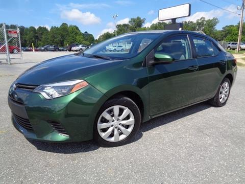 2014 Toyota Corolla for sale in Greensboro, NC