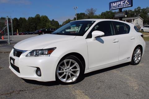 2013 Lexus CT 200h for sale in Greensboro, NC