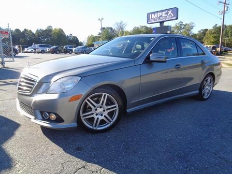 2010 Mercedes-Benz E-Class for sale in Greensboro, NC