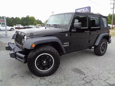 2013 Jeep Wrangler Unlimited for sale in Greensboro, NC
