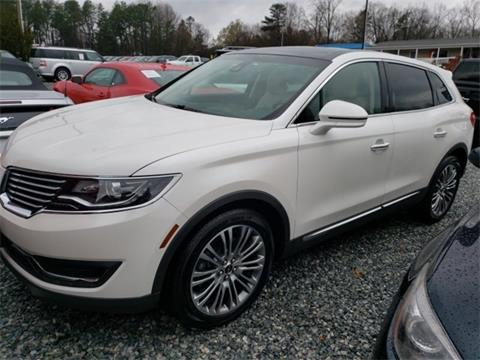 2016 Lincoln MKX for sale in Greensboro, NC