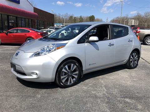 Nissan Leaf For Sale >> Used Nissan Leaf For Sale In North Carolina Carsforsale Com