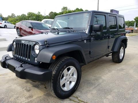 2016 Jeep Wrangler Unlimited for sale in Greensboro, NC