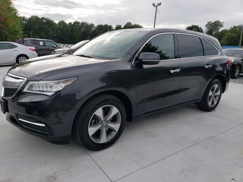 2016 Acura MDX for sale in Greensboro, NC