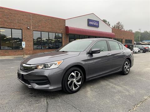 2017 Honda Accord for sale in Greensboro, NC