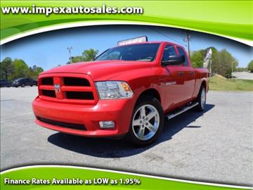 2012 RAM Ram Pickup 1500 for sale in Greensboro, NC