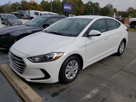 2017 Hyundai Elantra for sale in Greensboro, NC