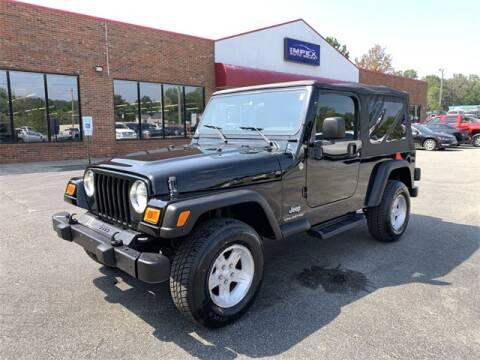 2005 Jeep Wrangler for sale in Greensboro, NC