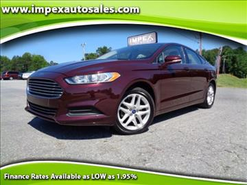 2013 Ford Fusion for sale in Greensboro, NC