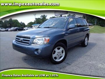 2004 Toyota Highlander for sale in Greensboro, NC