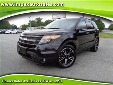 2013 Ford Explorer for sale in Greensboro, NC