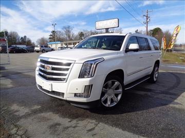 2016 Cadillac Escalade ESV for sale in Greensboro, NC