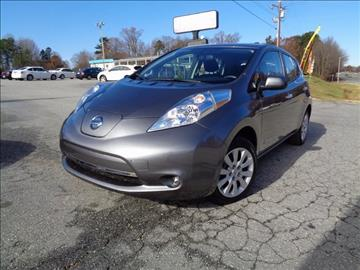 2015 Nissan LEAF for sale in Greensboro, NC