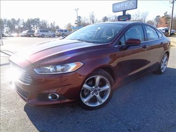 2016 Ford Fusion for sale in Greensboro, NC