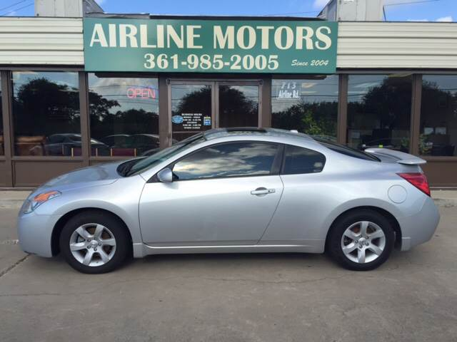 2009 Nissan Altima 25 S 2dr Coupe Cvt In Corpus Christi Tx