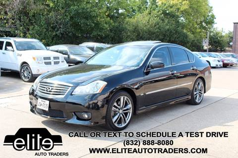 2010 Infiniti M35 for sale in Houston, TX