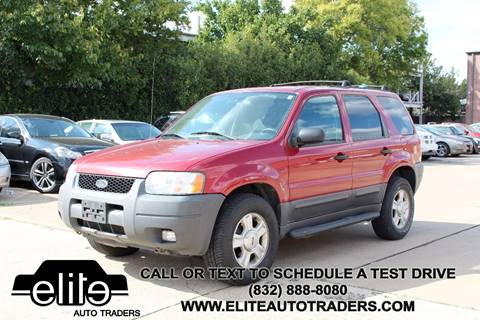 2004 Ford Escape for sale in Houston, TX