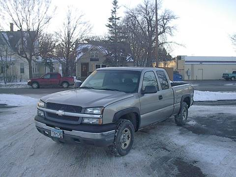 2003 Chevrolet Silverado 1500 for sale in Osakis, MN