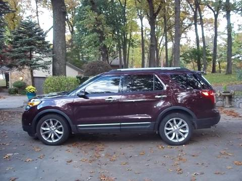 2011 Ford Explorer for sale at C MOORE CARS in Grove OK