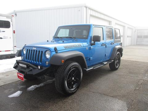 2015 Jeep Wrangler Unlimited for sale in Sidney, NE